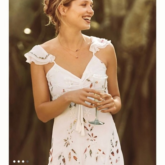 5966d47964837 Anthropologie Dresses | Farm Rio Quintana Maxi Dress Size 14 | Poshmark